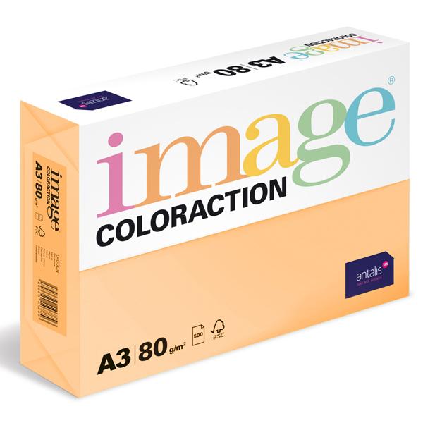 Barevný papír Image Coloraction A3 80g meruňková 500 ks 119153