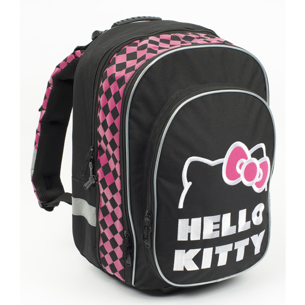 Batoh školní teenager Hello Kitty black 301273