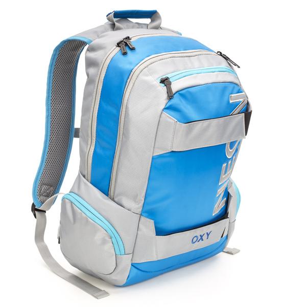 Batoh studentský Oxy Sport Neon Blue 302477