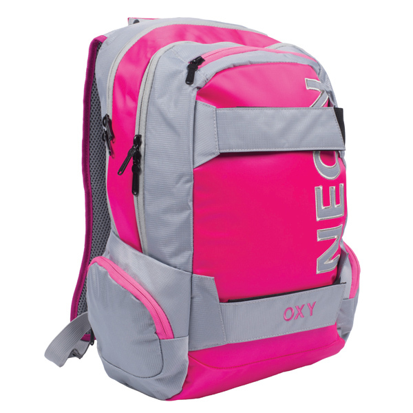 Batoh studentský Oxy Sport Neon Pink 302476