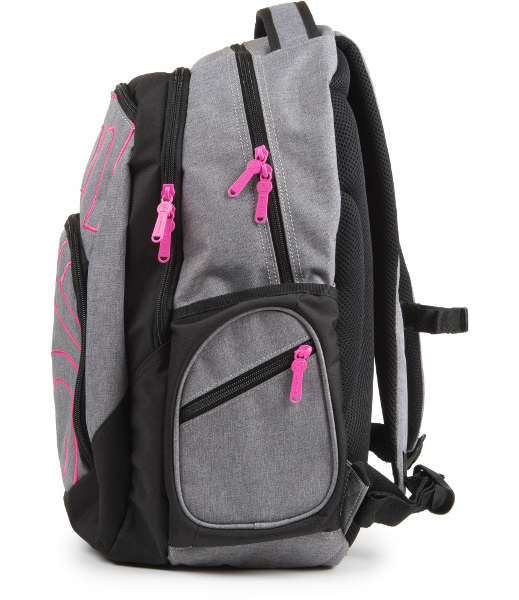 aa6473fabab Batoh studentský Oxy Style Grey Pink