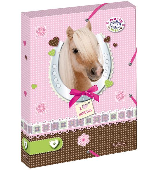 Box na sešity A4 Pretty Pets Kůň 301741