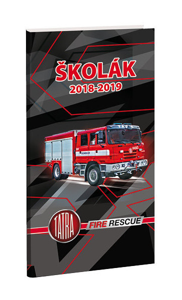 ba3d7b595dd Diář školní Tatra hasiči