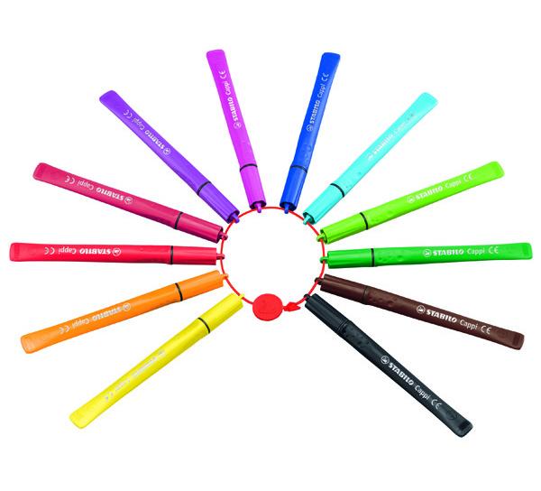 Fix Stabilo Cappi sada 12 barev 301922