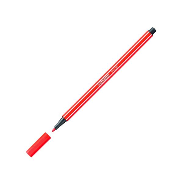 Fix Stabilo Pen 68 fluorescenční červená 301855