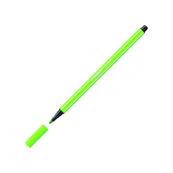 Fix Stabilo Pen 68 fluorescenční zelená 301854