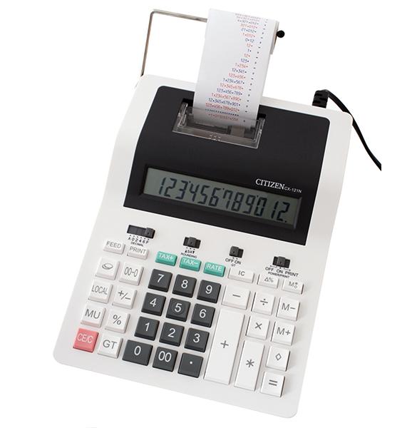 Kalkulačka Citizen CX-121N s tiskem 159026