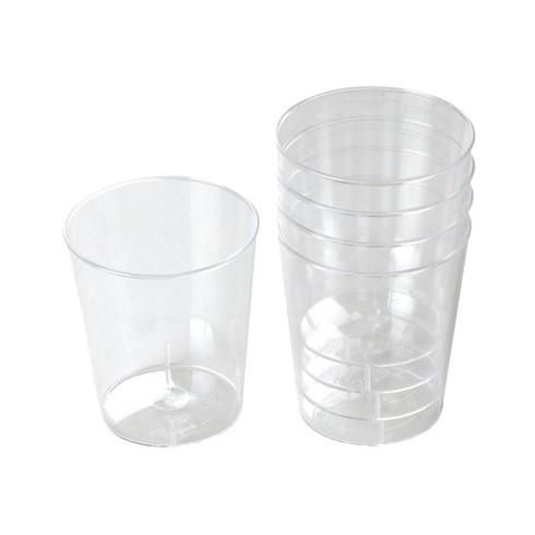 Kelímky krystal destilát plastové 50ks 213066