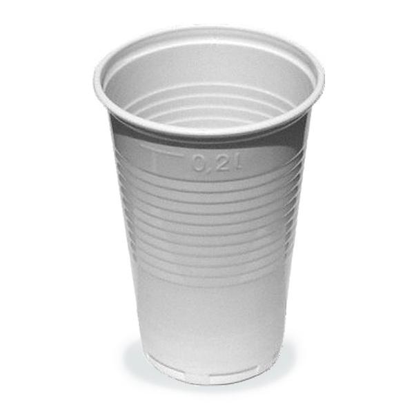 Kelímky plastové 0,2l 100ks 210068