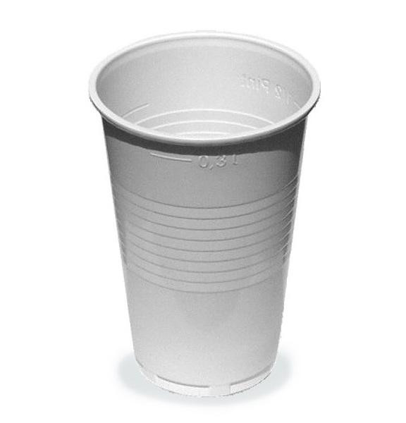 Kelímky plastové 0,3l 100ks 219658