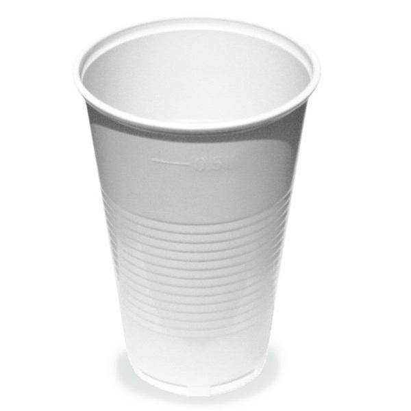 Kelímky plastové 0,5l 50ks 219659