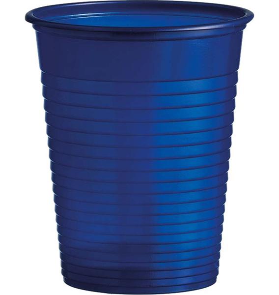 Kelímky plastové barevné 0,18l 10ks modré 956858