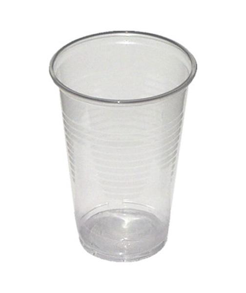 Kelímky plastové transparentní 0,3l 100ks 210069