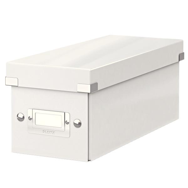 Krabice archivační CLICK-N-STORE na CD bílá 149102