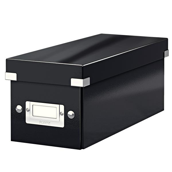 Krabice archivační CLICK-N-STORE na CD černá 126123