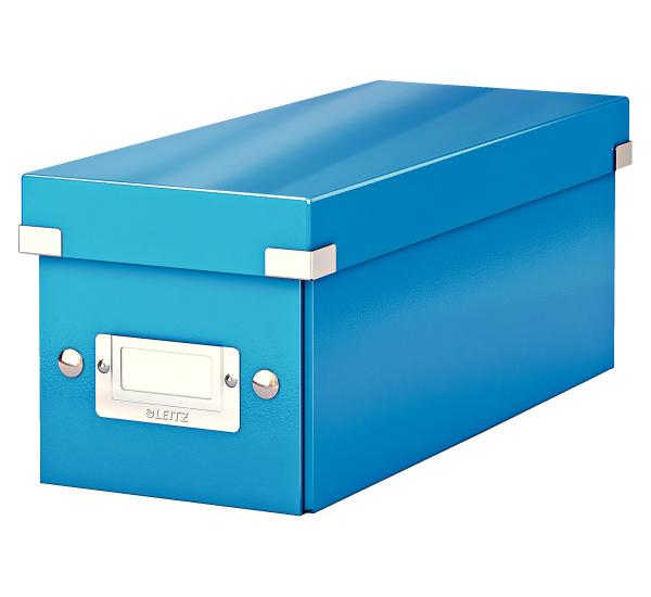 Krabice archivační CLICK-N-STORE na CD modrá 149103