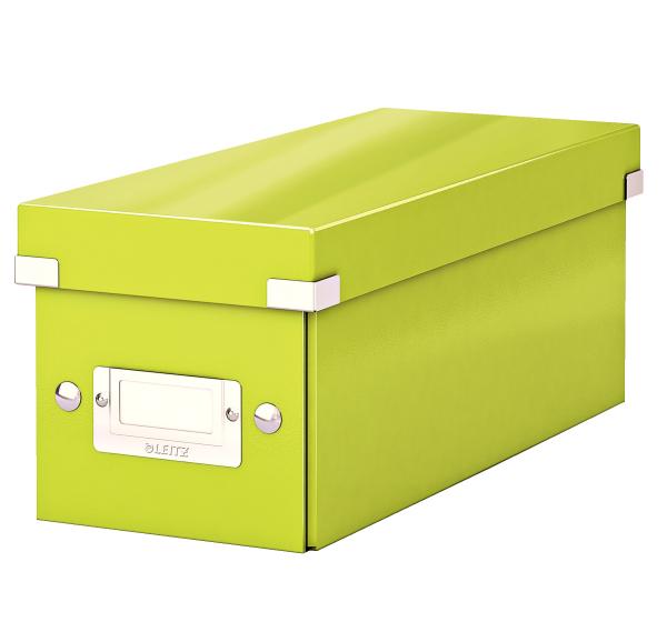 Krabice archivační CLICK-N-STORE na CD zelená 149106