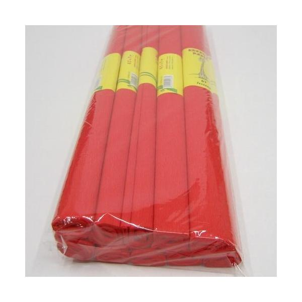 Krepový papír červený 0020164
