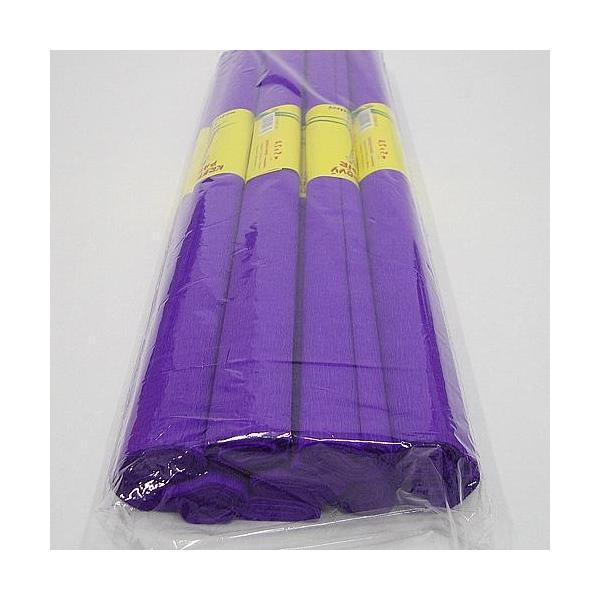 Krepový papír fialový tmavý 0200077