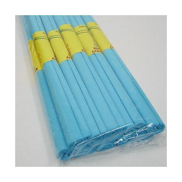 Krepový papír modrý světlý 0020184