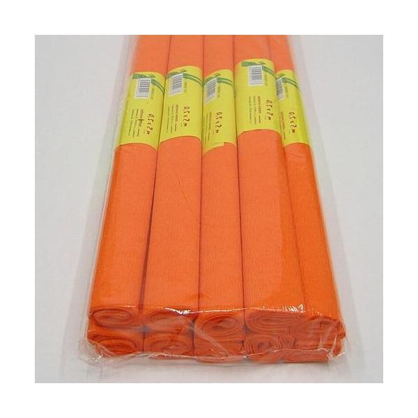 Krepový papír oranžový 0020166