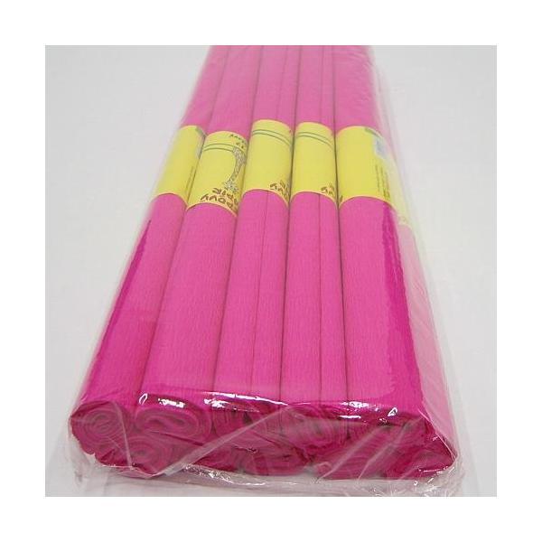 Krepový papír růžový 0020165