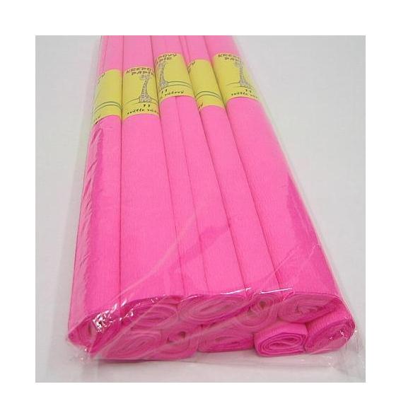 Krepový papír růžový světlý 930751