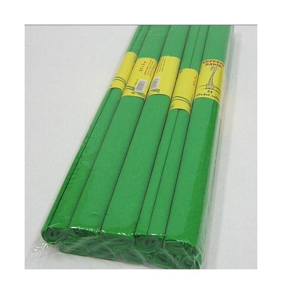 Krepový papír středně zelený 930753