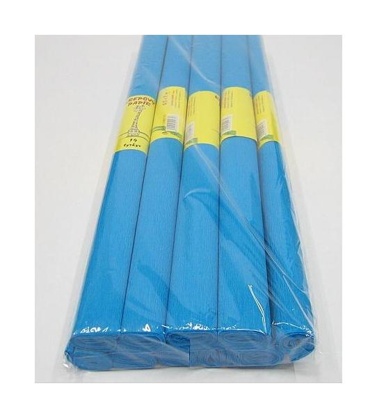 Krepový papír tyrkysový 930752