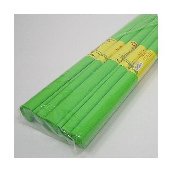 Krepový papír zelený světlý 0020160
