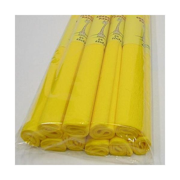 Krepový papír žlutý 0020161