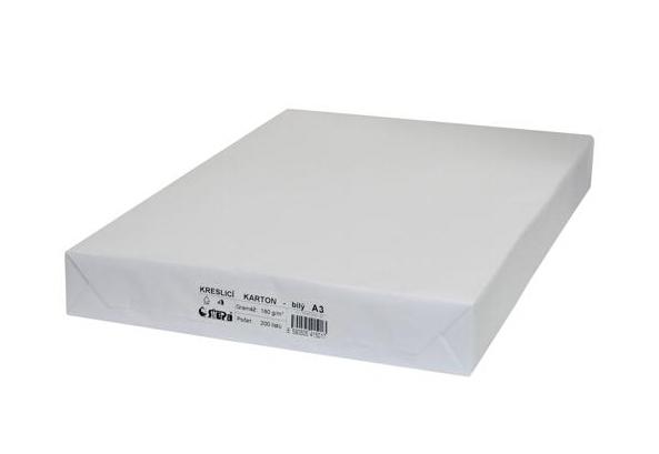 Kreslicí karton A3 bílý 180g 990175
