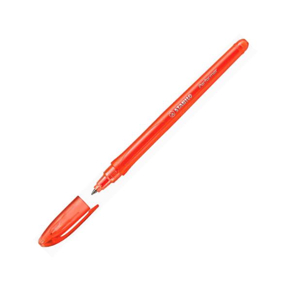 Kuličkové pero Stabilo Performer červená 301459
