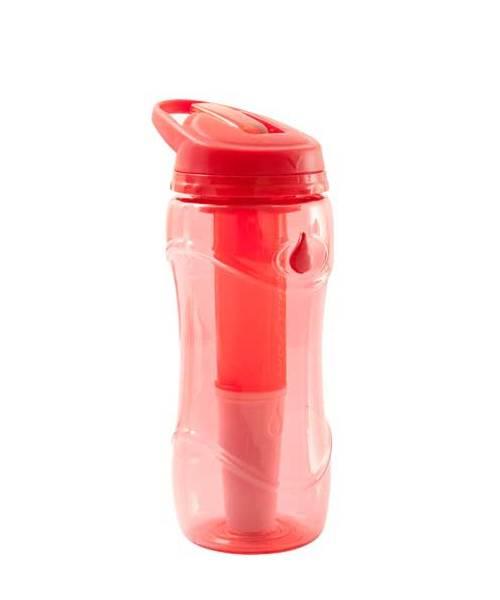 Lahev na pití filtrační Pure Bottle červená 301474