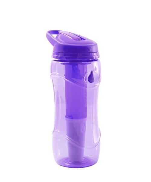 Lahev na pití filtrační Pure Bottle fialová 301475
