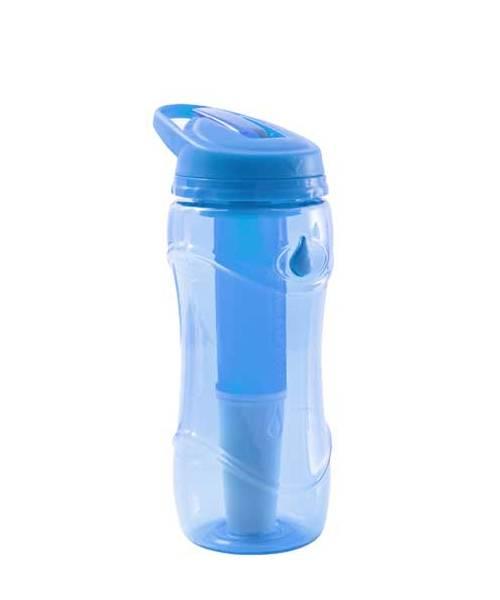 Lahev na pití filtrační Pure Bottle modrá 301476
