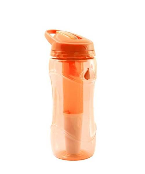 Lahev na pití filtrační Pure Bottle oranžová 301477