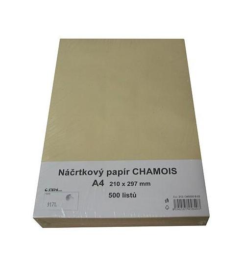 Náčrtkový papír A4 Chamois 500 listů 400086