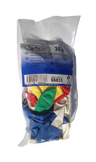 Nafukovací balónky 27cm 20ks 910890