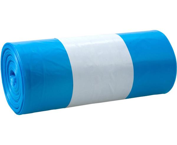 Odpadkové pytle zatahovací modré 120l 20ks 401571