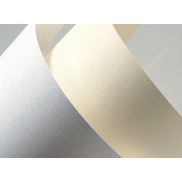 Ozdobný papír Plátno bílá 230g 20ks 117016