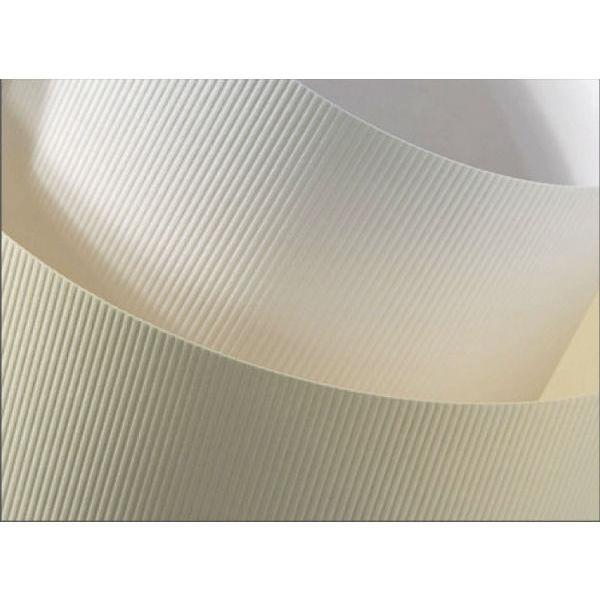 Ozdobný papír Pruhy bílá 230g, 20ks 117014
