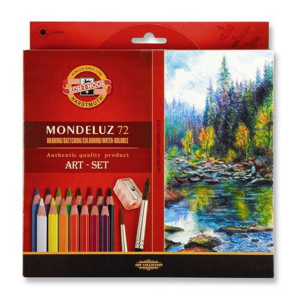 Pastelky Akvarelové 3714 72ks šestihranné 934102