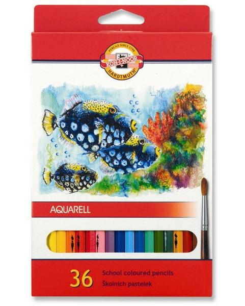 Pastelky Akvarelové 3719 36ks trojhranné 979733
