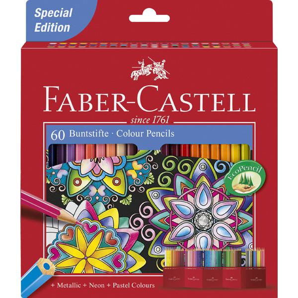 Pastelky Faber Castell 60ks 302963