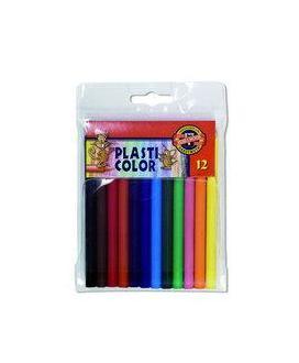Pastelky Plasticolor 12ks 800234