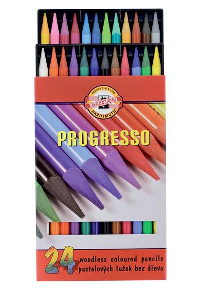 Pastelky Progresso 24ks 400166