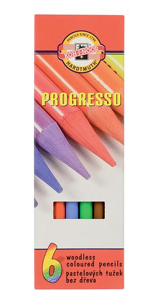 Pastelky Progresso 6ks 191244