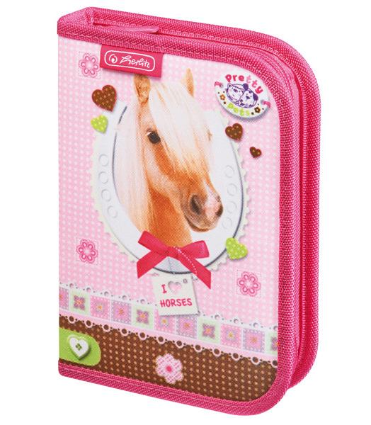 Penál jednopatrový plný Pretty Pets Kůň kun