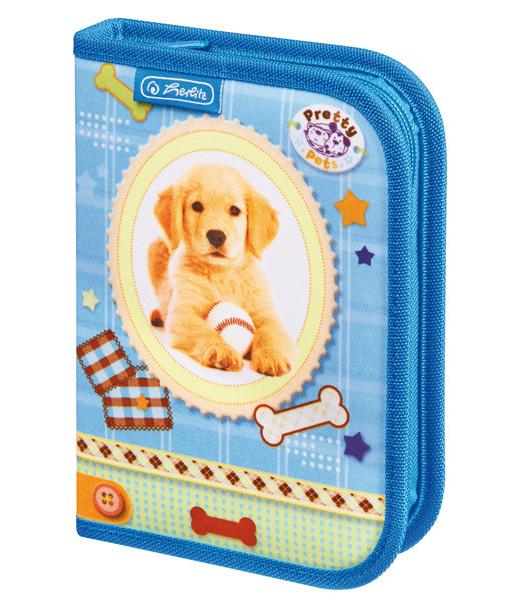 Penál jednopatrový plný Pretty Pets Pes pes